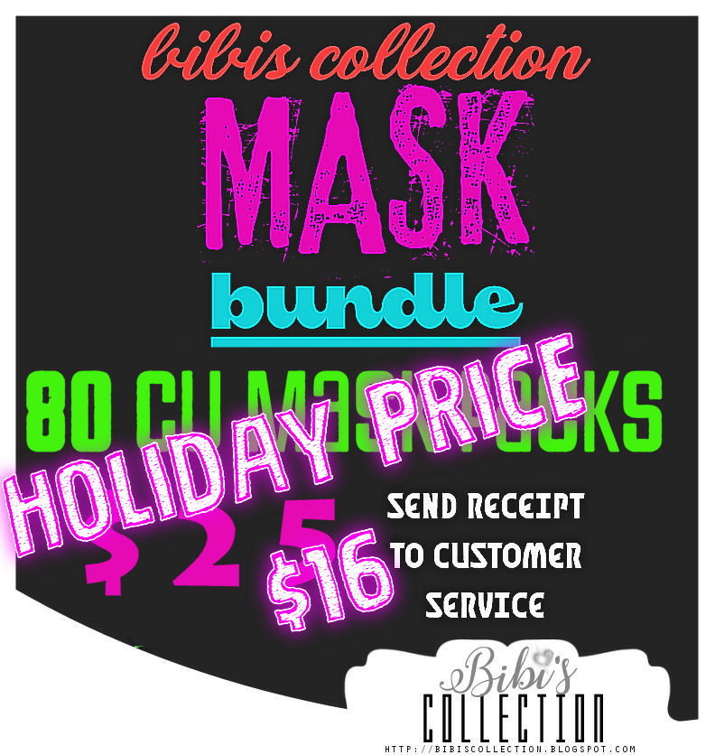 ! LIMITED TIME BMS OFFER BMS CU MASK